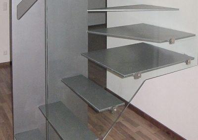 01 Treppengeländer Glas