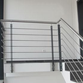02 Treppengeländer Stahl