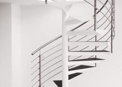 05 Treppengeländer Stahl