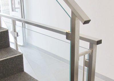 12 Treppengeländer Glas