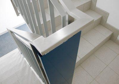 12 Treppengeländer Stahl