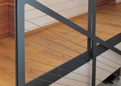 15 Treppengeländer Stahl